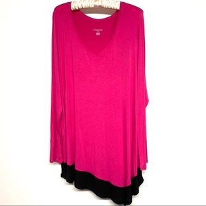 Lane Bryant 18/20 lightweight long sleeve tunic